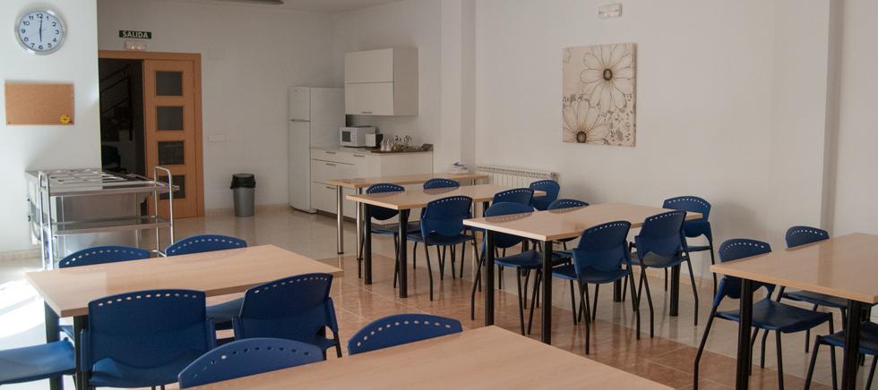 Cocina de la residencia de estudiantes en Zamora